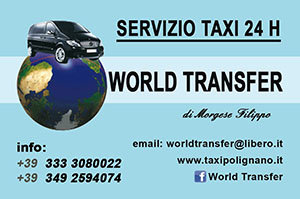 World Transfer business card