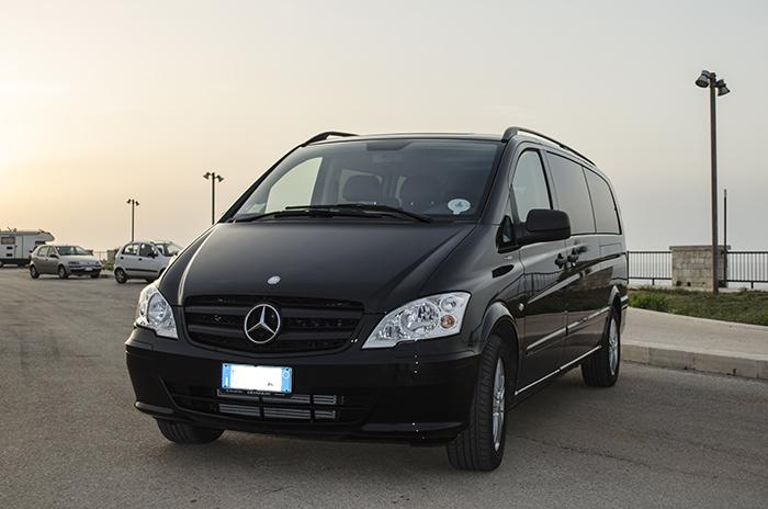 Mercedes Vito World Transfer sinistra
